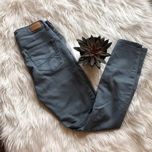 High Waisted Ankle Jeggings - Preloved!